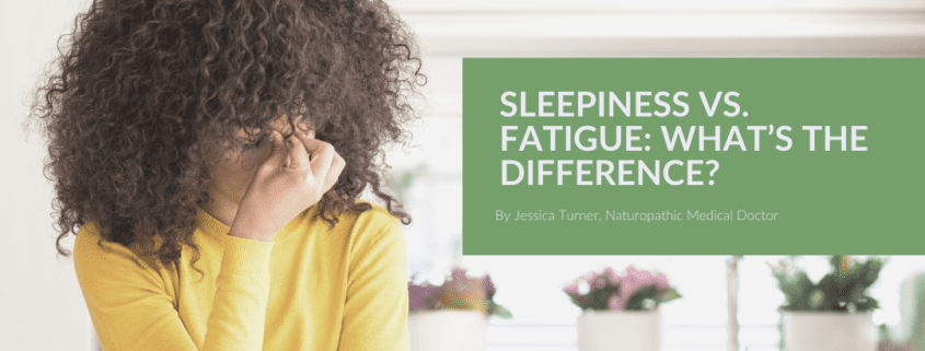 Sleepiness vs. Fatigue
